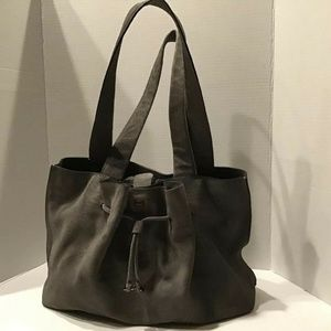H by Halston Grey Purse